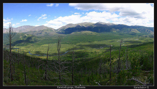 Karatosh valley