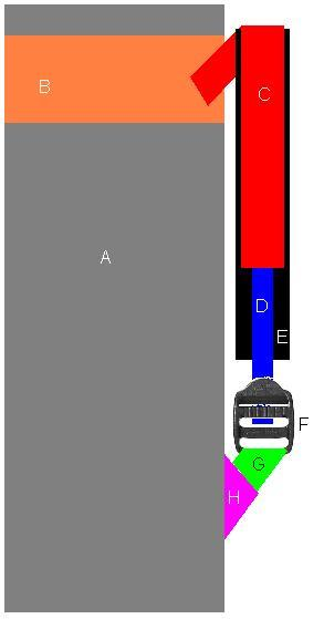 Backpack Strap Construction