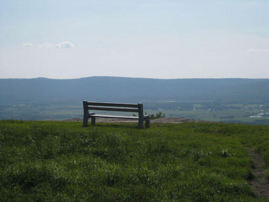 A place to rest along the western escarpment