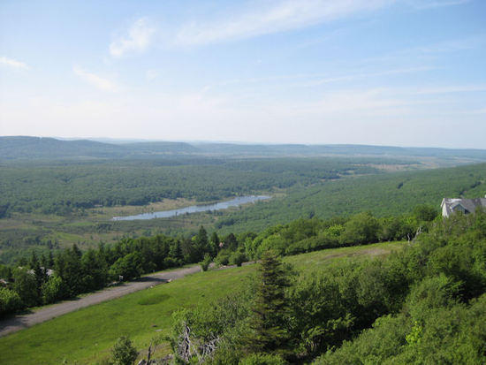 Northwestern view of Canaan Valley