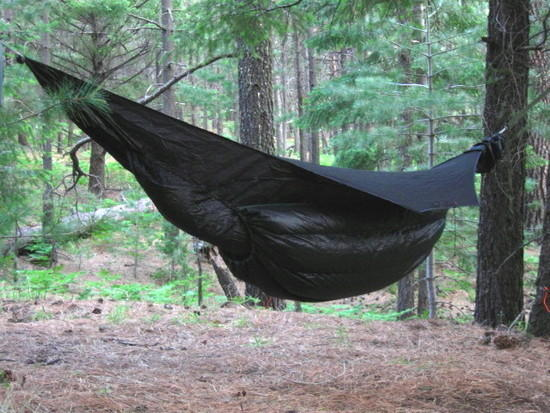 wtb underquilt for blackbird hammock backpacking light