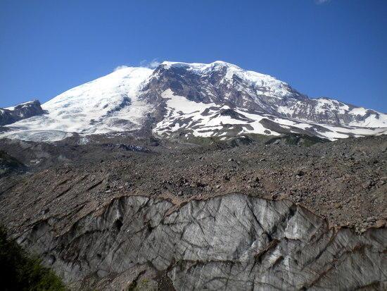 Winthrop Glacier with Mount Rainier