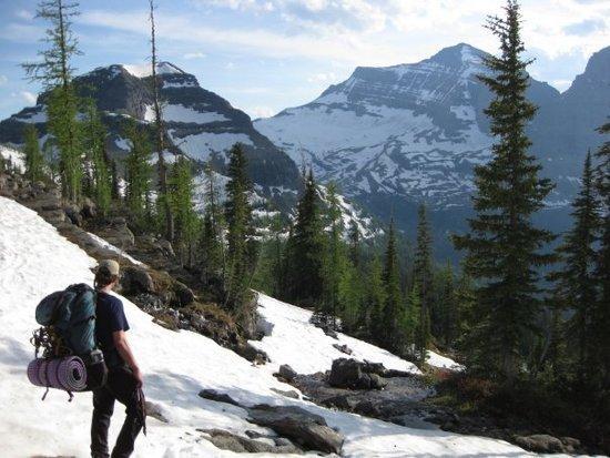 Boulder Pass Glacier National Park
