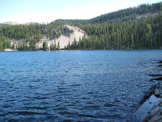 Leaving Harriette Lake