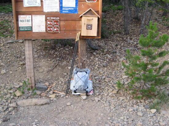 Nannie Creek Trail Head
