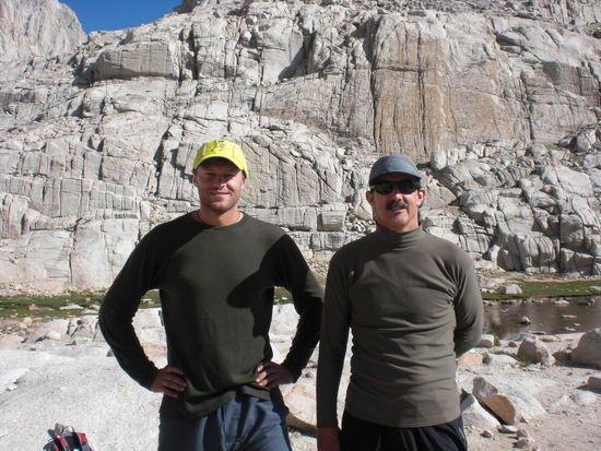 Michael Popov and Mark Davis at Trail Camp