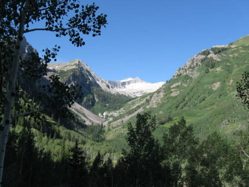 Snowmass Creek valley