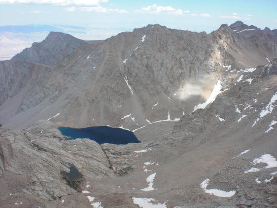 Consultation Lake and Trail Camp Swamp as seen from Mt. Muir
