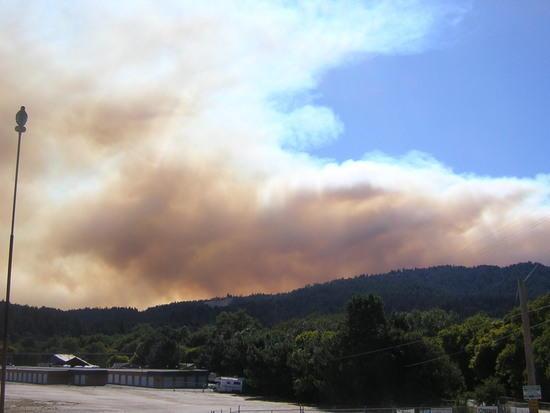 Lockheed Fire