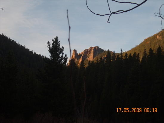 Rock Spires above Wigwam Creek.