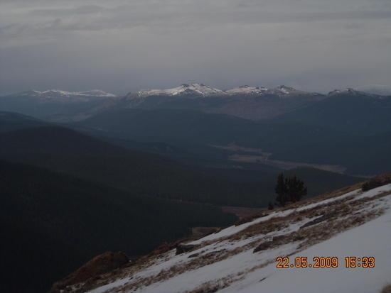 Looking Northwest toward the Kenosha Mtns.