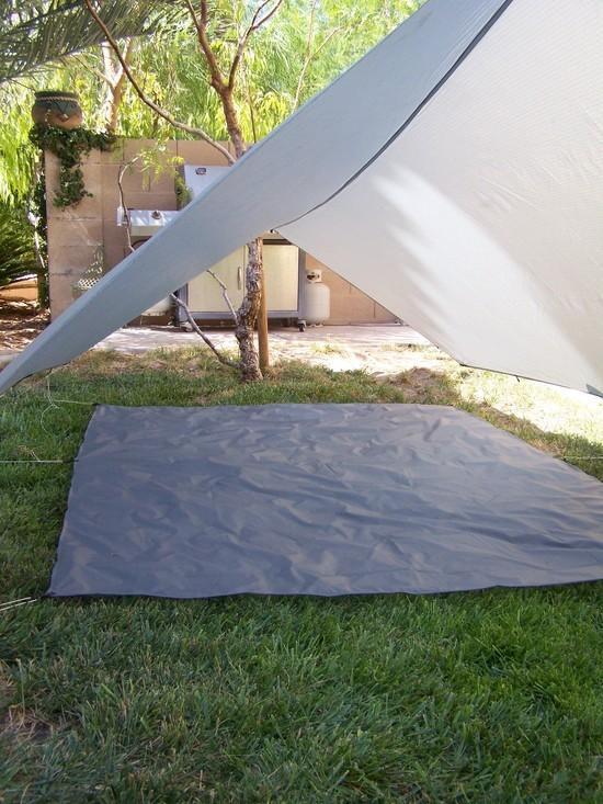 MYOG 5x7 silnylon ground cloth