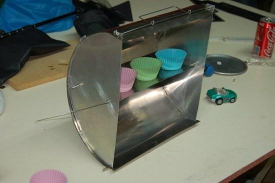 Ti & Alu Reflector Oven