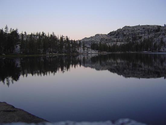 Morning at Smedberg Lake - Yosemite National