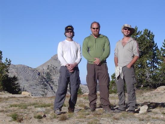 The Three Amigos at Benson Col