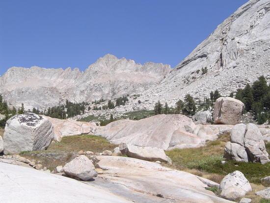 Matterhorn at the end of Sawtooth Ridge