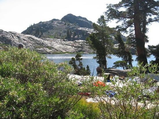 camping west end of Lake