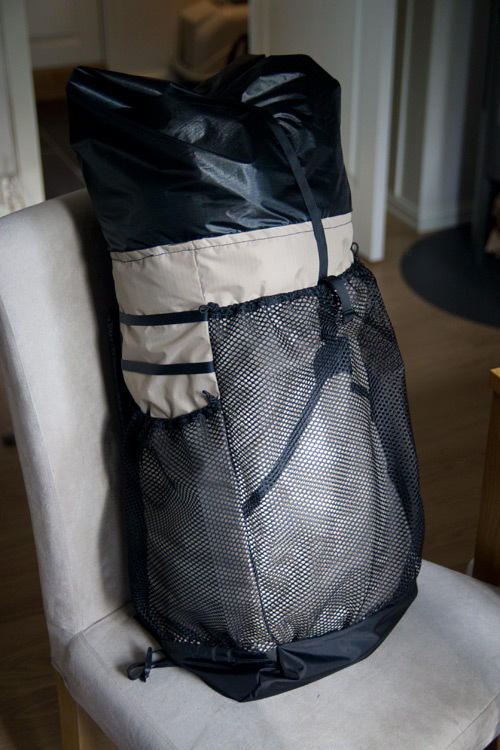 The Ray-Way backpack. I love the big mesh pockets
