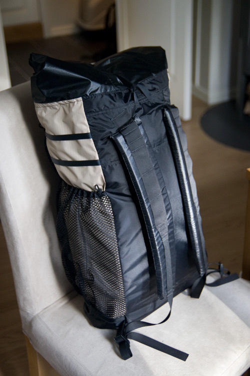 Ray-Way backpack, this is before I installed the chest strap