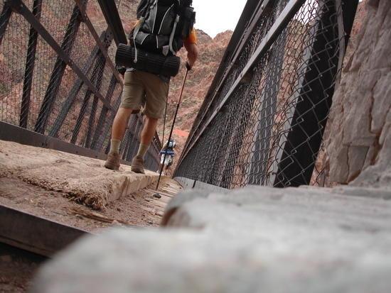 Bridge crossing the Colorado