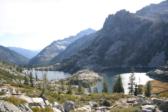 Upper and Lower Canyon Lakes