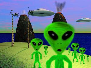 Alian invasion