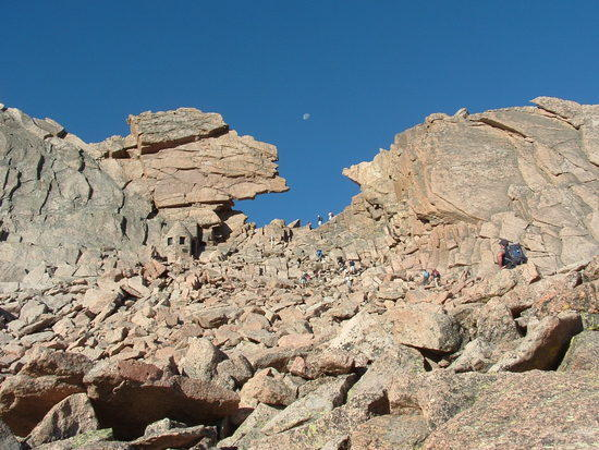Keyhole Route to Long's Peak in the Colorado Rockies