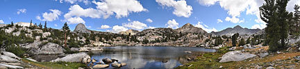 In the Sixty Lakes Basin