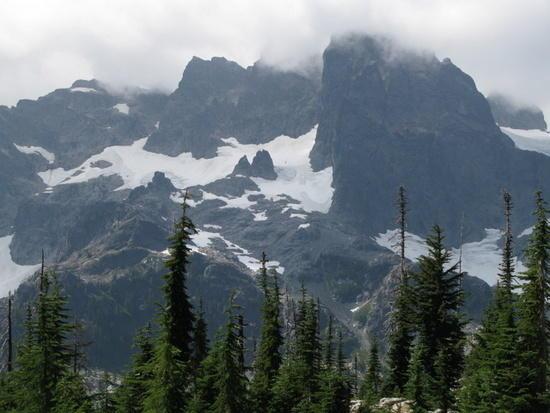 Alpine Lakes Wilderness, Washington Cascades, PCT (late August)