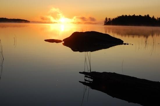 Sunrise in the 100 Mile Sorta Kinda Wilderness