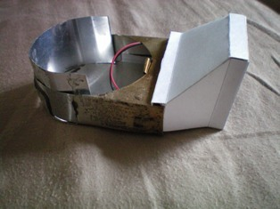 small fan duct side view