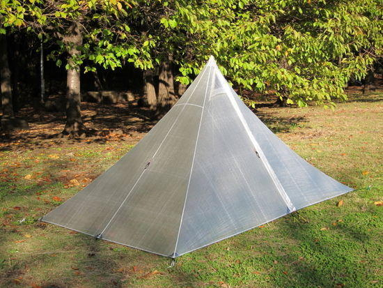 Cuben shelter 6 oz. (170g) not include stakes, extra guy-line and pole.