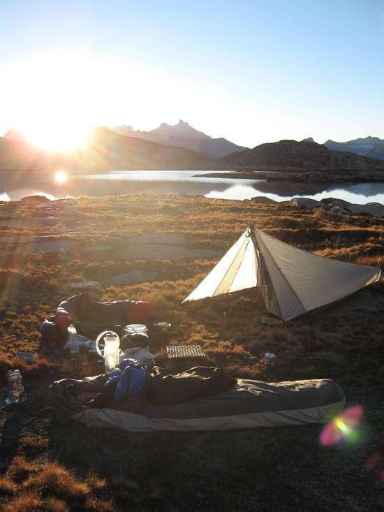 moose camp morning