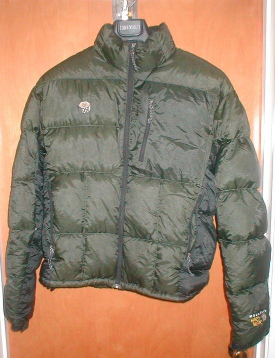 Mountain Hardwear Phantom Jacket repaired hole in right sleeve Size M $100