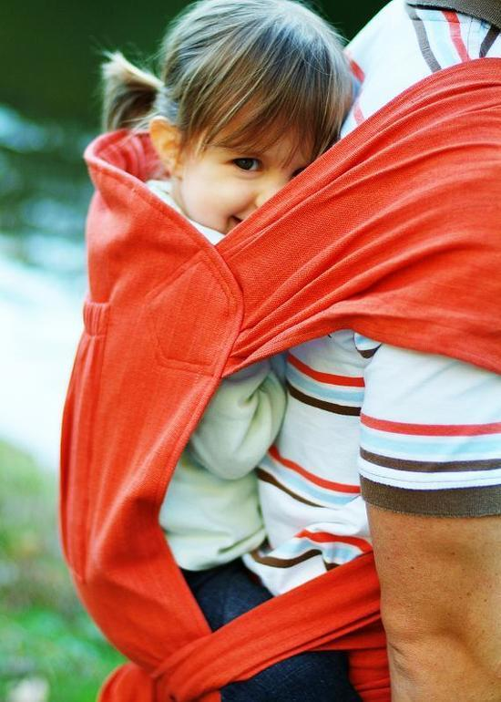 Fabric child carrier Backpack
