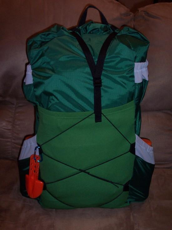homemade lightweight pack