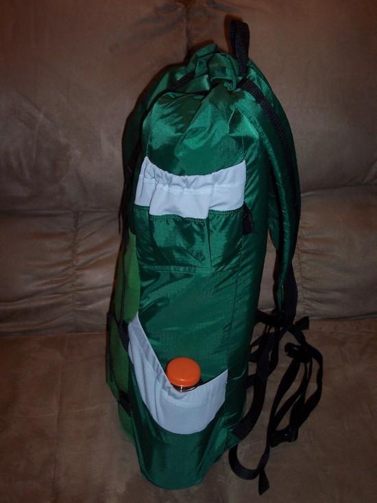 homemade lightweight pack