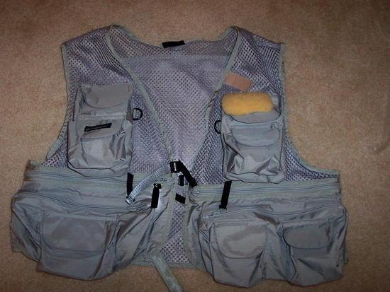 Front of vest