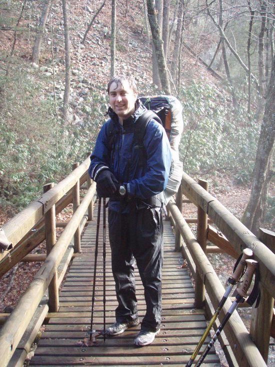 In Laurel Fork Gorge (Appalachian Trail)