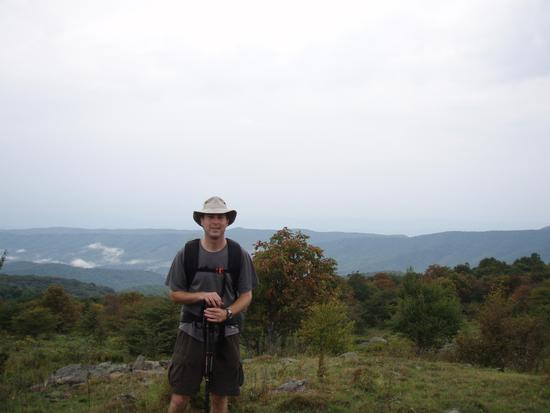 At Elk Garden (Appalachian Trail)
