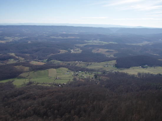 View south from Peris Mountain