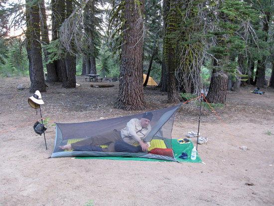 Morning in Jay's MLD Sernity Shelter