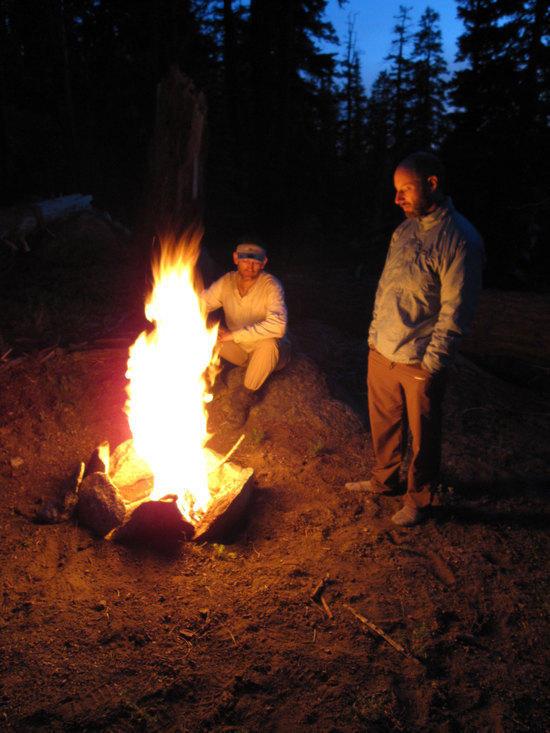 Cameron & Jeremy Enjoying Another Orange Glow