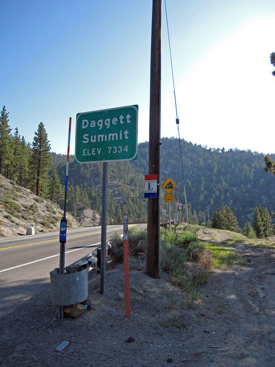 Turning Right at Dagget Summit