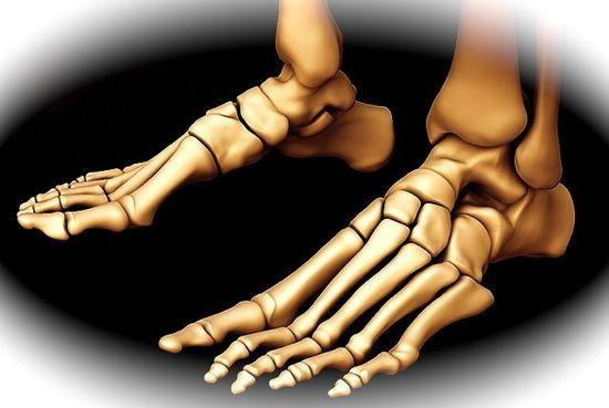 boney feet