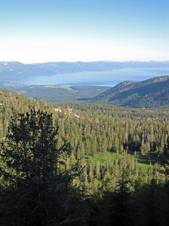 In Sight of the Southern Portion of Lake Tahoe Again