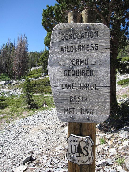 Entering Desolation Wilderness