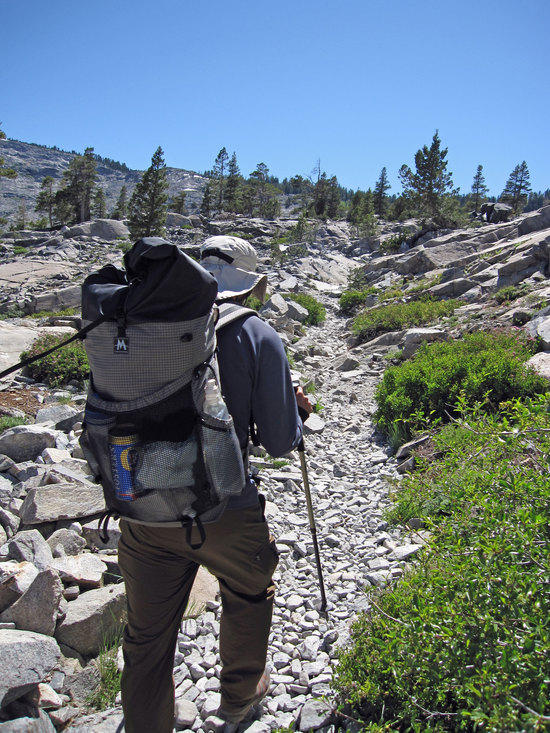 Jeremy Hiking with his UL Beer