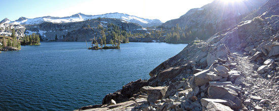 Heather Lake Shot from Northern End