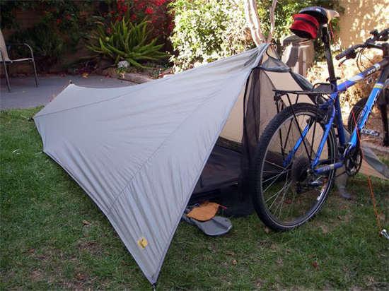 Vontrail and bike